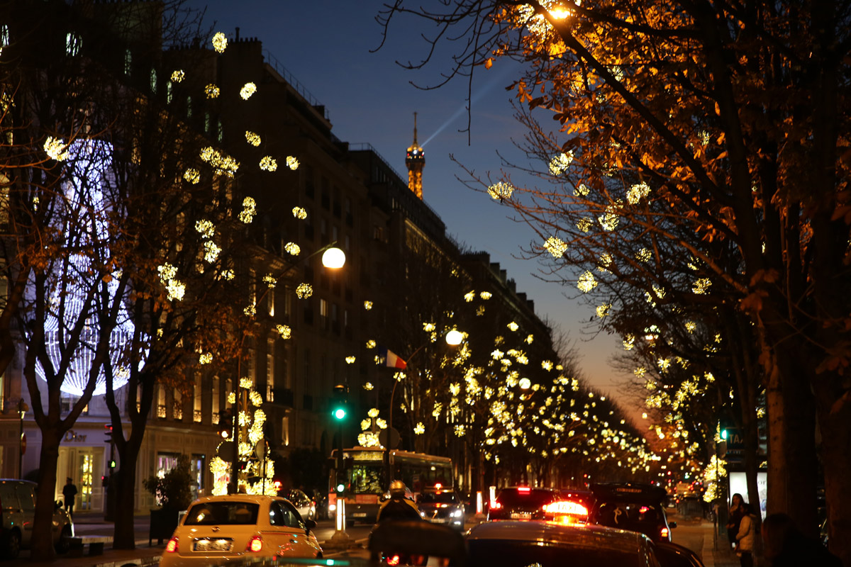 Illuminations de noel paris ville de toutes les lumi res - Illumination noel paris 2017 ...